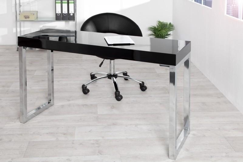 INVICTA biurko VERK 120x40 czarne