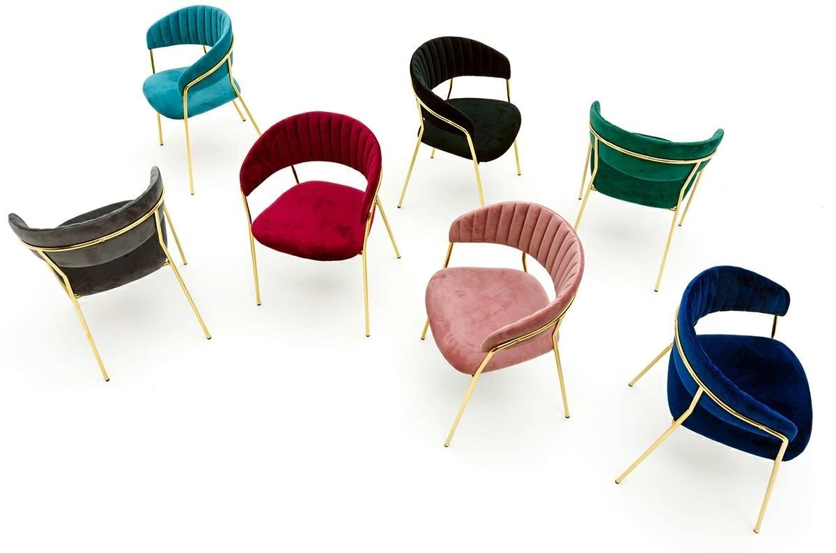 Krzesło MARGO cimny szary - zdjęcie nr 9