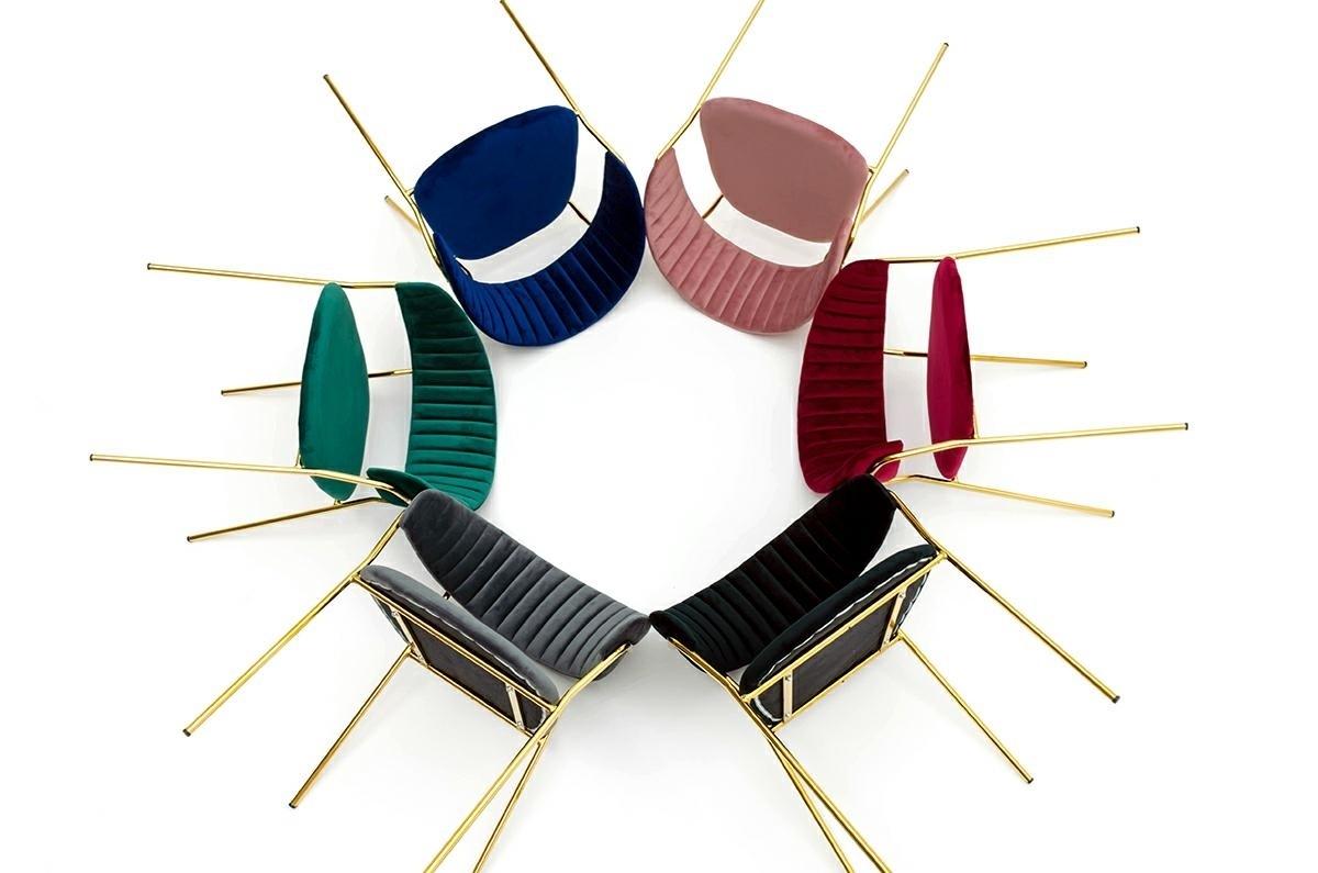 Krzesło MARGO cimny szary - zdjęcie nr 11