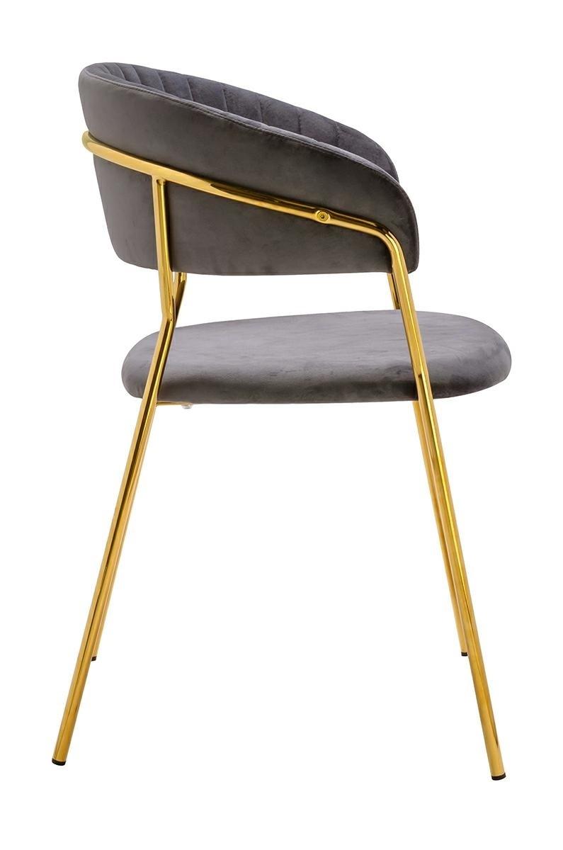 Krzesło MARGO cimny szary - zdjęcie nr 1