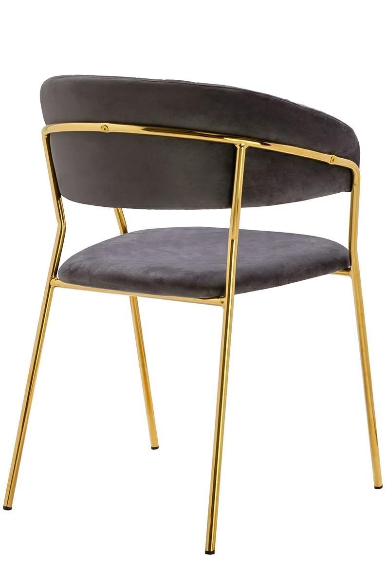 Krzesło MARGO cimny szary - zdjęcie nr 2