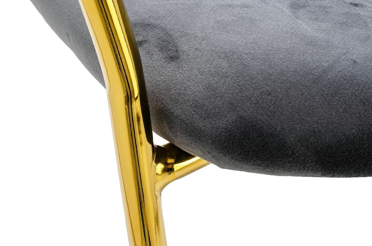 Krzesło MARGO cimny szary - zdjęcie nr 5