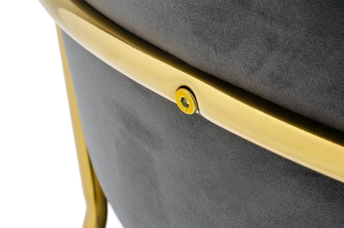 Krzesło MARGO cimny szary - zdjęcie nr 6