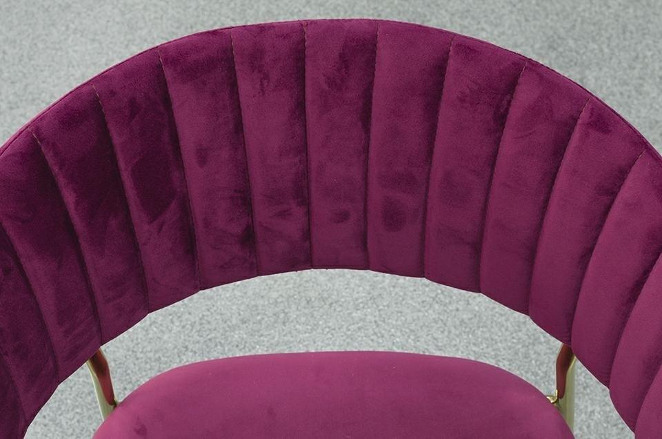 Krzesło MARGO burgund - zdjęcie nr 15