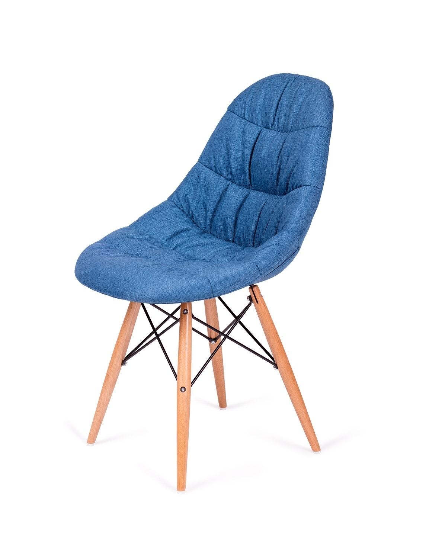 Krzesło RUGO niebieskie tkanina